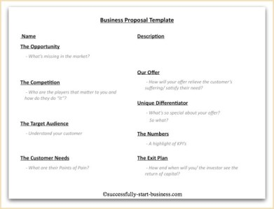 Business Proposal Template 4