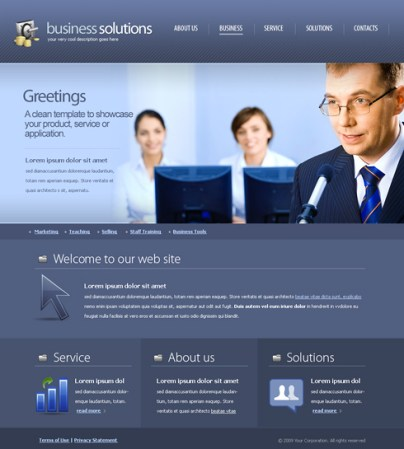 Business Template 2