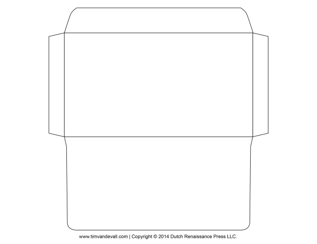 Envelope Template 12