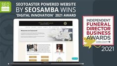 Online Memorial quote and ordering system wins prestigious industry award