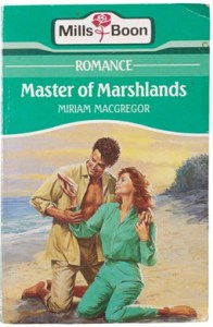 Seventies style cover for Mills & Boon book
