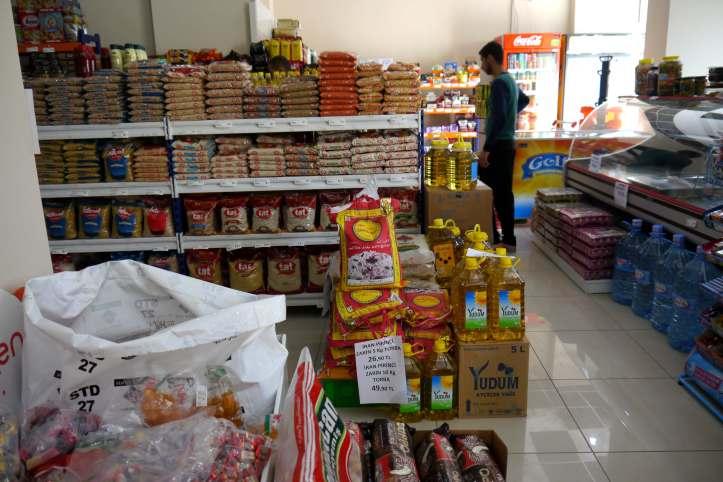 Productos variados en Supermercado cooperativa de Van