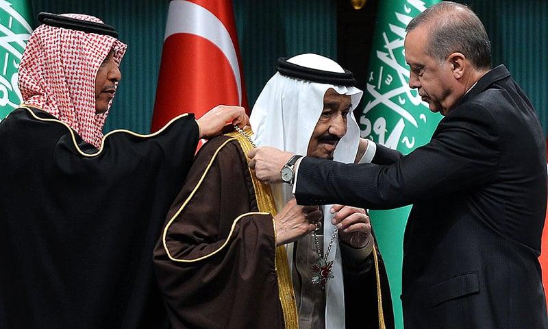 TURKEY-SAUDI-DIPLOMACY