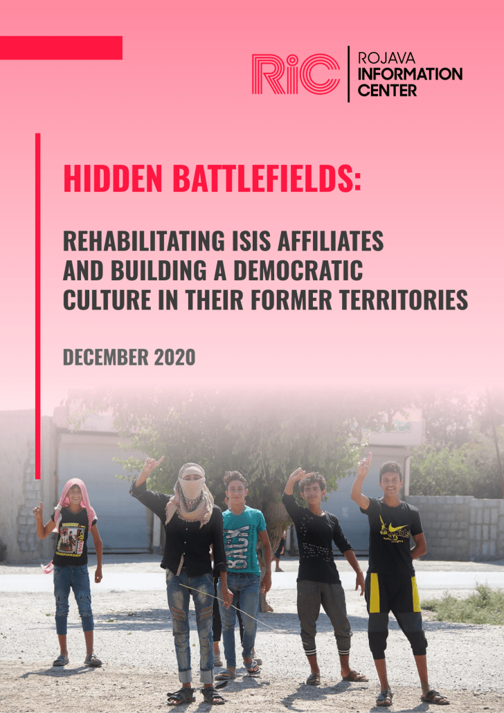 Hidden Battlefields: Rehabilitating ISIS Affiliates and Building a Democratic Culture in Their Former Territories