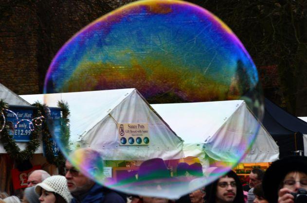 Bubbles for sale.