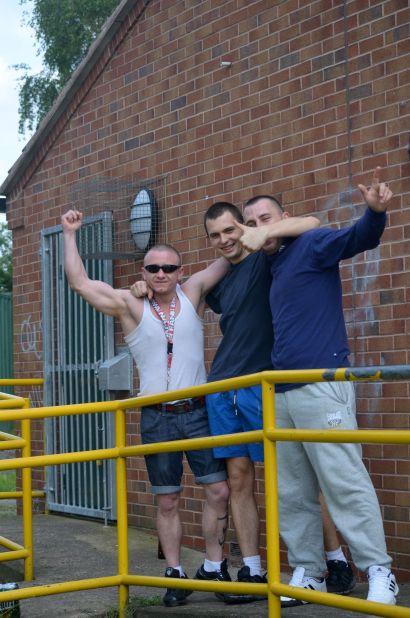 Trio of Polish lads
