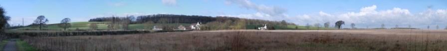 The farm field