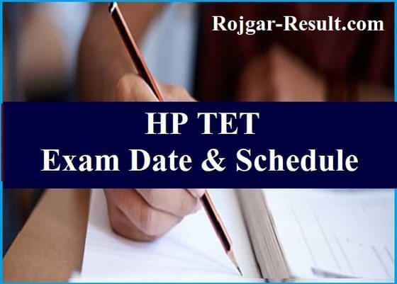 HP TET Notification HP TET Nov HP TET Application Form