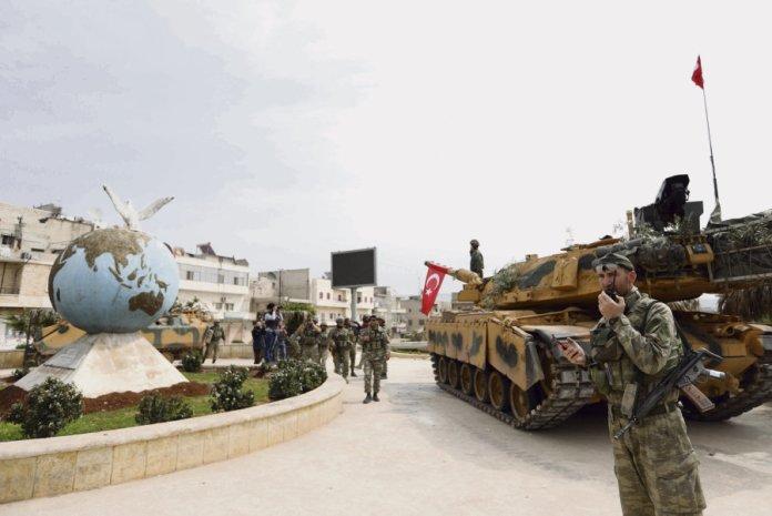 Afrin: occupation des forces turques, exactions et nettoyage ethnique