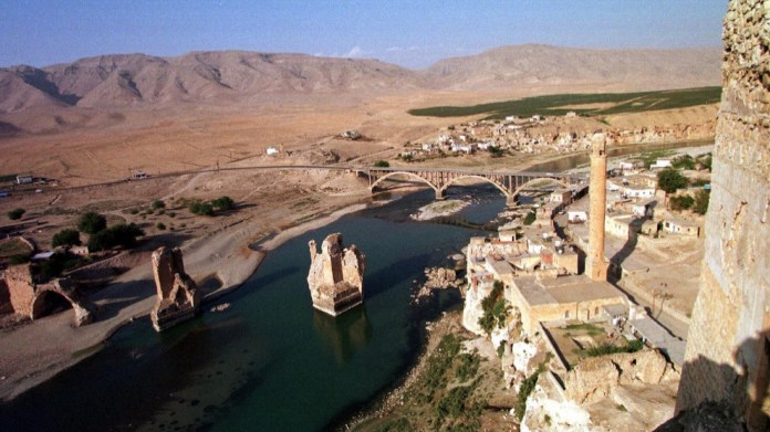 Appel international pour sauver le site antique de Hasankeyf