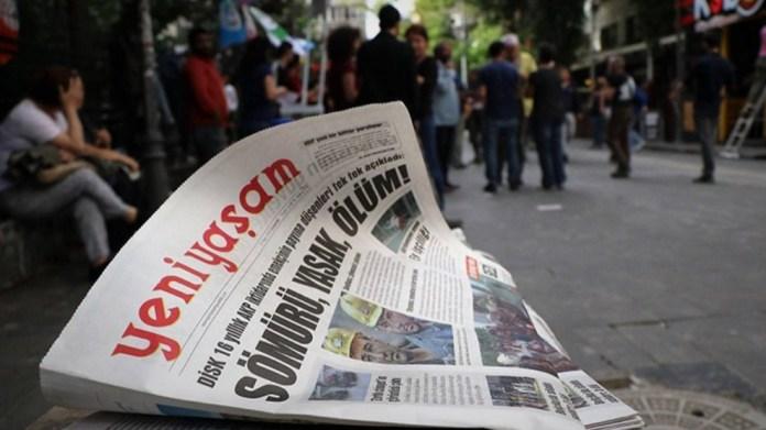 Turquie: procès contre le Rédacteur en chef du journal « Yeni Yasam »