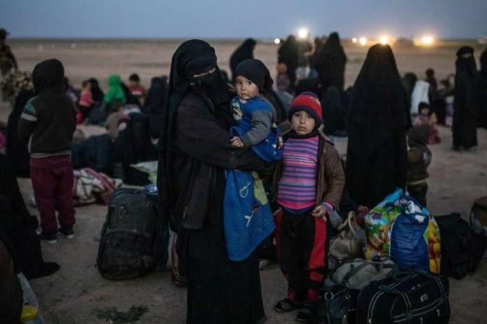 Syrie: deux femmes et six enfants de Daesh rapatriés aux États-Unis