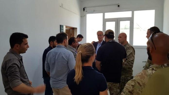 Le conseiller spécial des Etats-Unis William Rubak et plusieurs diplomates américains ont rencontré mercredi 12 juin les représentants de l'AANES