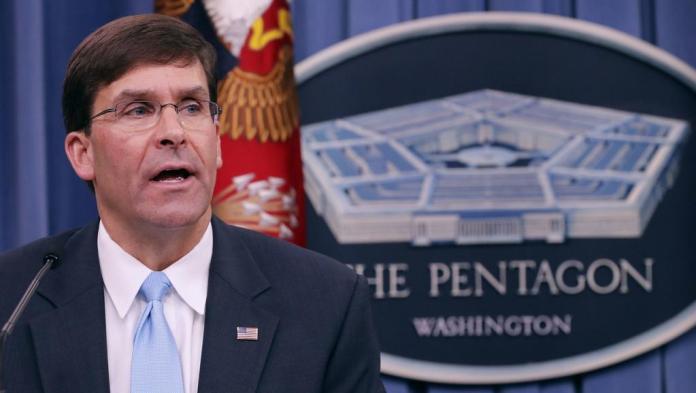 Le chef du Pentagone juge « inacceptable » une incursion unilaterale de la Turquie en Syrie