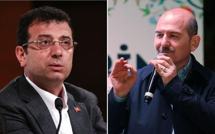 Le ministre turc de l'intérieur menace le Maire d'Istanbul : «Nous te débraillerons»