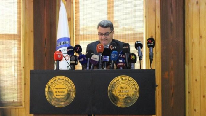 L'AANES appelle l'ONU à protéger les civils