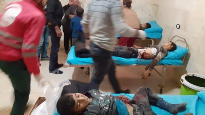Rojava: 10 civils, dont 8 enfants, massacrés par les bombes de la Turquie à Tall Rifat