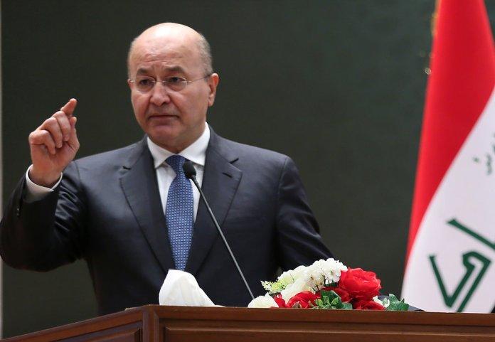 Le président irakien refuse que son pays se «transforme en champ de bataille»