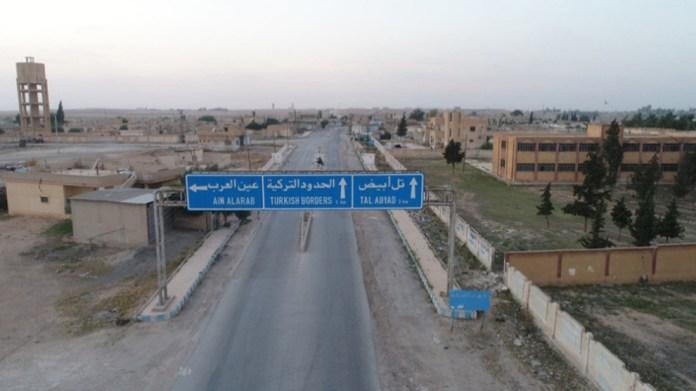 L'armée turque attaque des villages à Tall Abyad