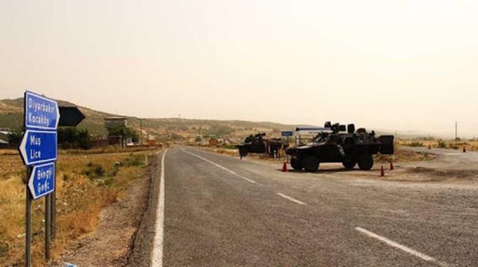 Diyarbakir : Opération militaire à Lice