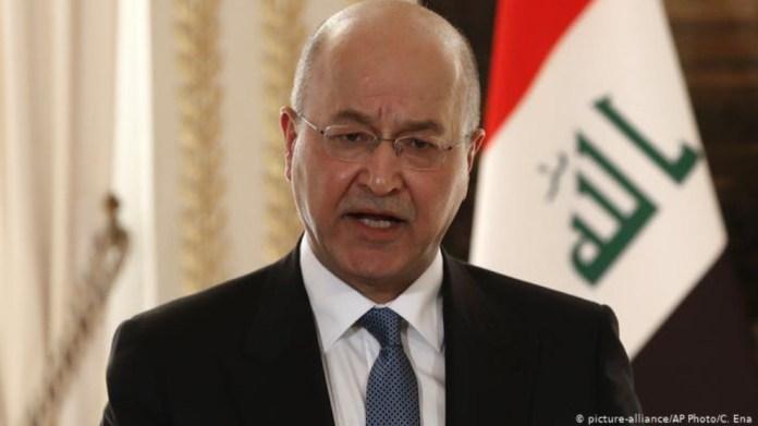 Le président irakien Barham Saleh a qualifié les incursions de la Turquie dans l'espace aérien irakien de violation manifeste des normes internationales