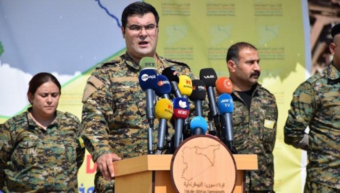 Les FDS mettent en garde contre de nouvelles attaques de la Turquie