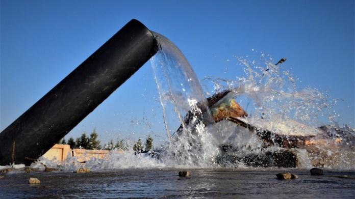 Appel urgent pour l'approvisionnement en eau interrompu par la Turquie