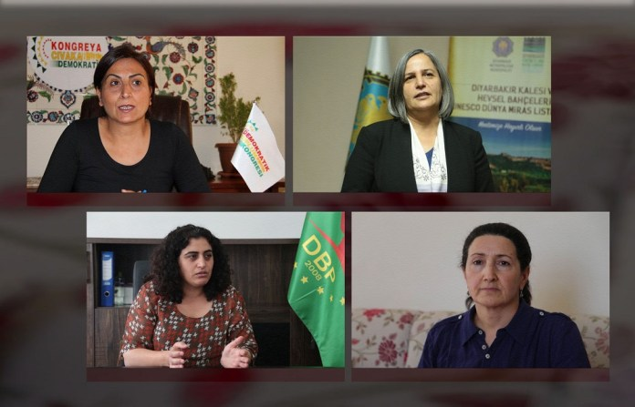 4 anciennes cadres et élues du HDP détenues depuis plusieurs années sont poursuivies dans le cadre de l' « enquête Kobanê »