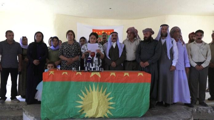 Suite à l'accord entre le gouvernement de Bagdad et le KRG, le CADS a déclaré que Shengal était confrontée à un nouveau massacre.