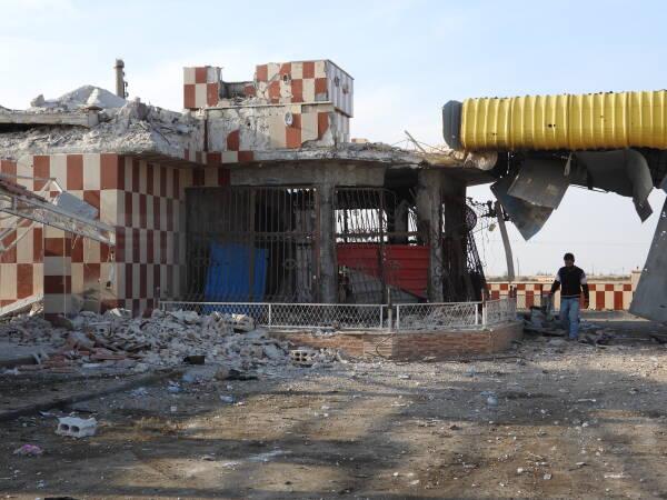 Les attaques des forces d'invasion turques contre Aïn Issa se sont intensifiées au cours des deux derniers mois.