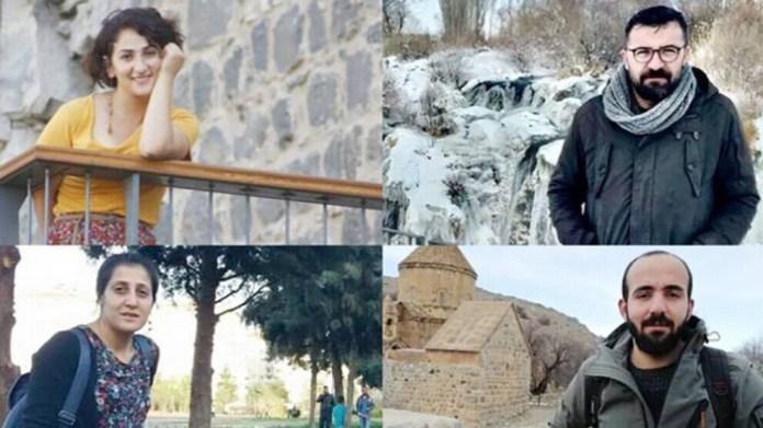 La FIJ et la FEJ ont demandé la libération immédiate des quatre journalistes kurdes détenus depuis le 6 octobre par le régime turc.