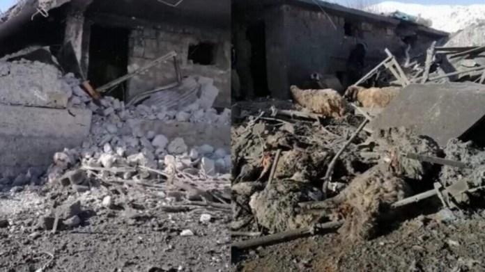 Un troupeau de 250 bêtes a été décimé vendredi par des bombardements de l'armée turque, dans la région de Balekayeti, au Sud-Kurdistan.