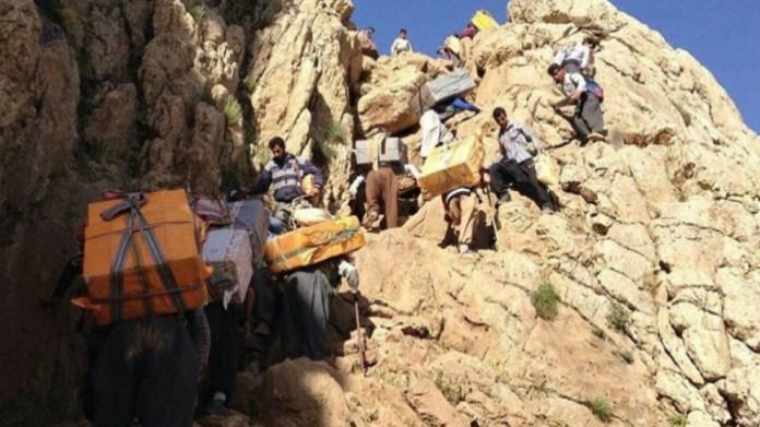 Les forces armées du régime iranien poursuivent leurs attaques contre les kolbars (travailleurs transfrontaliers) à la frontière entre le sud et l'est du Kurdistan (frontière irako-iranienne).
