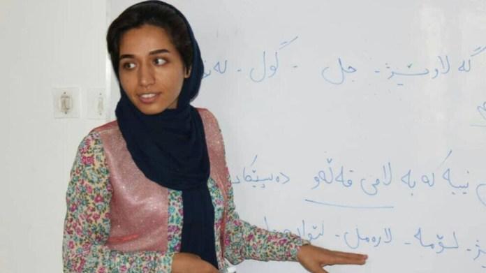 La cour d'appel de Sînê (Sanandaj) a confirmé samedi la condamnation d'une enseignante kurde à 5 ans de prison.
