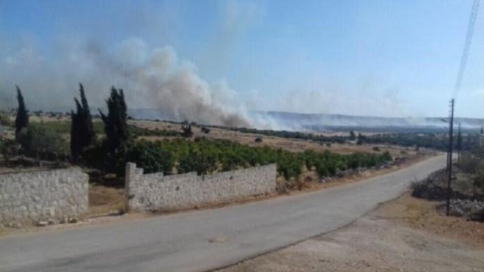 Les forces d'occupation turques ont bombardé un village de la région de Sherawa, dans la province d'Afrin, au nord de la Syrie.