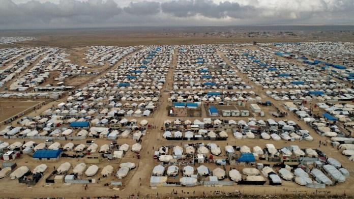 Dans le nord et l'est de la Syrie, on compte 15 camps abritant près d'un million et demi de réfugiés et de déplacés.
