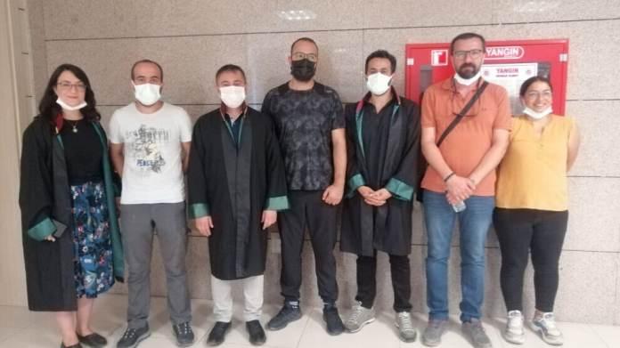 Une audience s'est tenue, ce vendredi matin, dans le procès de 5 journalistes kurdes poursuivis pour avoir couvert «la torture par hélicoptère», un fait de violences commis par l'armée turque à l'encontre de deux villageois kurdes, dans la région de Van, en septembre 2020.