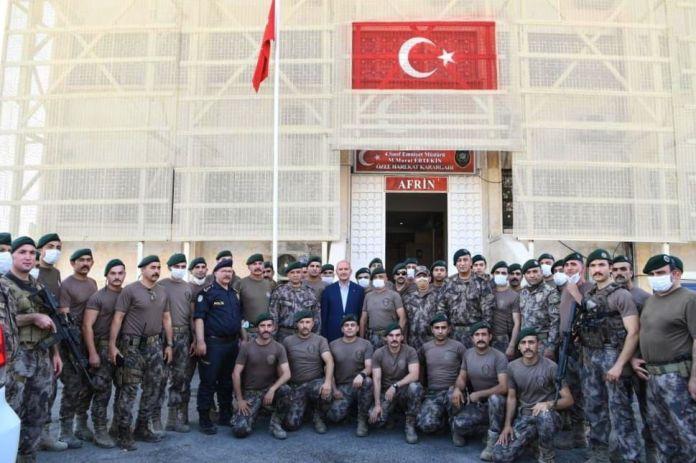 L'AANES a condamné la visite du ministre turc de l'Intérieur au nord de la Syrie, dénonçant l'intention turque d'annexer les zones occupées