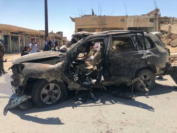 Une frappe aérienne de l'armée turque sur le centre de la ville de Shengal a tué deux personnes et blessé une autre.