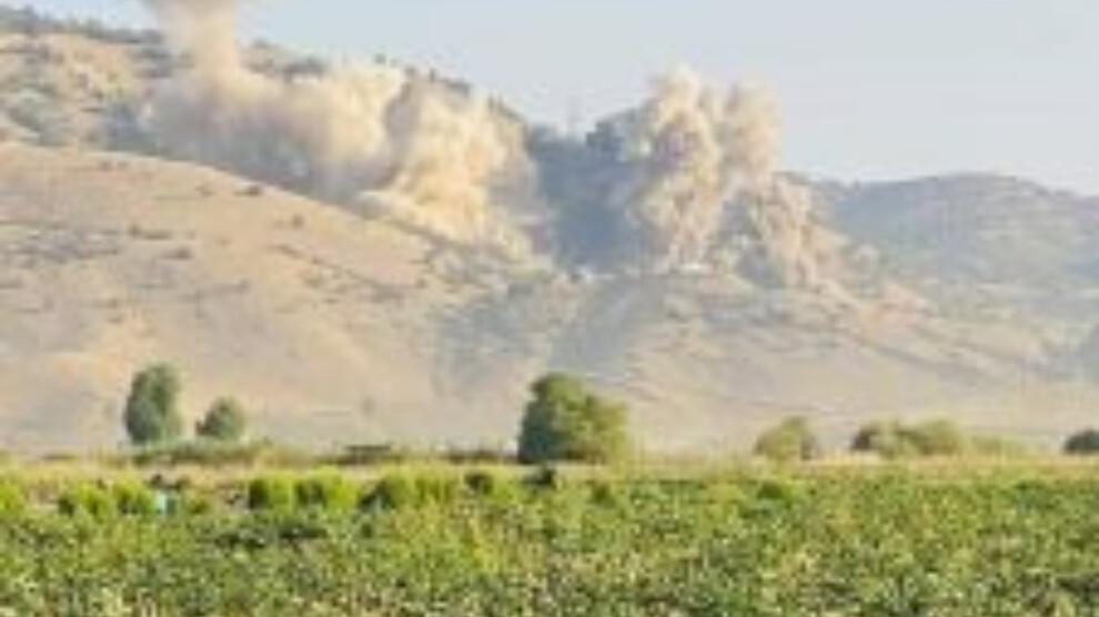L'armée turque a intensifié ses attaques mardi matin, en bombardant les villages de Shehba dans le Nord-est de la Syire, et le district de Pencwene au Sud-Kurdistan