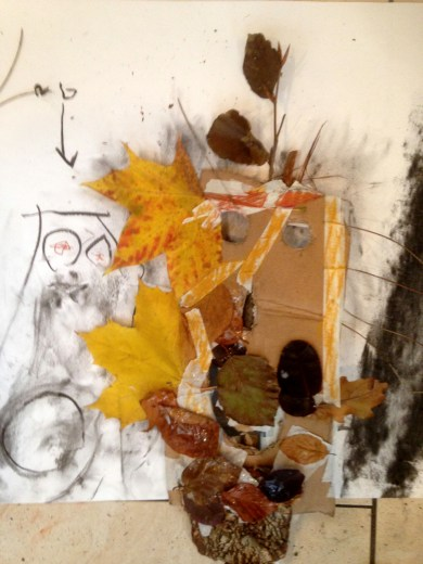 Art and Story-Found Faces woodland workshop-Theatre Royal BSE