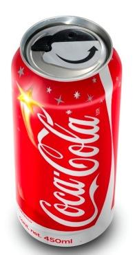 Coca-Cola de lata... de abrir y cerrar