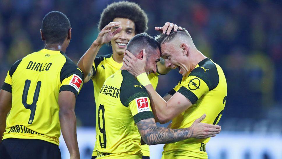 Eintracht Frankfurt verliert in Dortmund 1-3