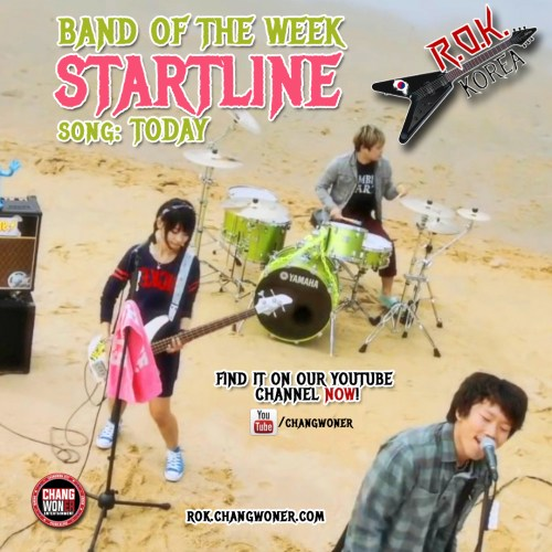 Startline - Band of the WEEK!