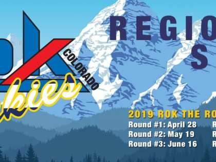 ROK THE ROCKIES REGIONAL SERIES 2019 SCHEDULE SET