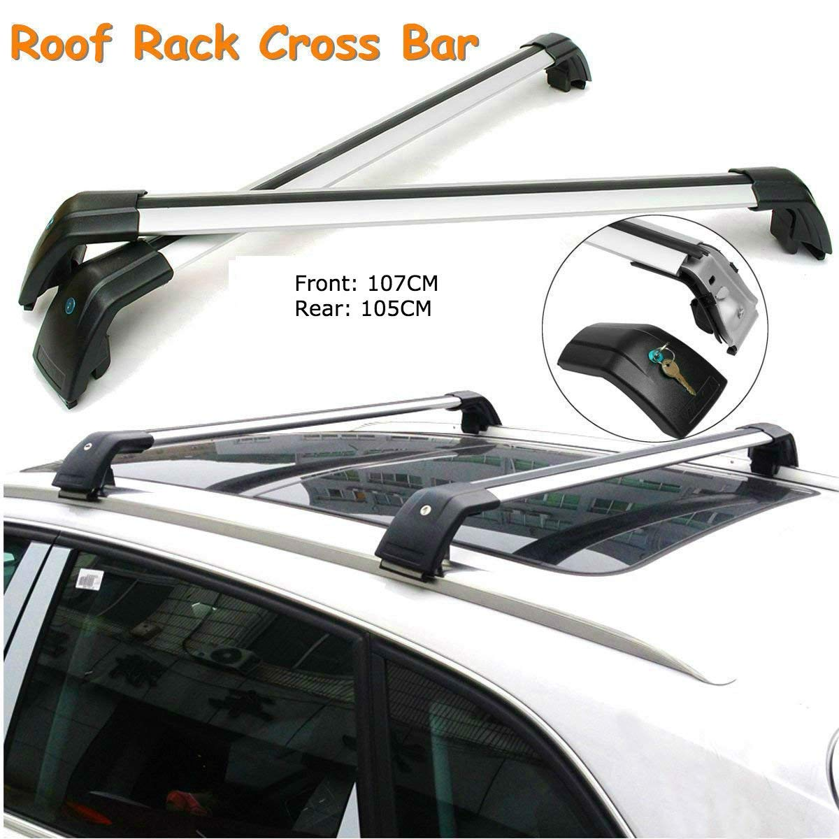 ROKIOTOEX Extendable Universal Shark Aluminum Alloy Roof