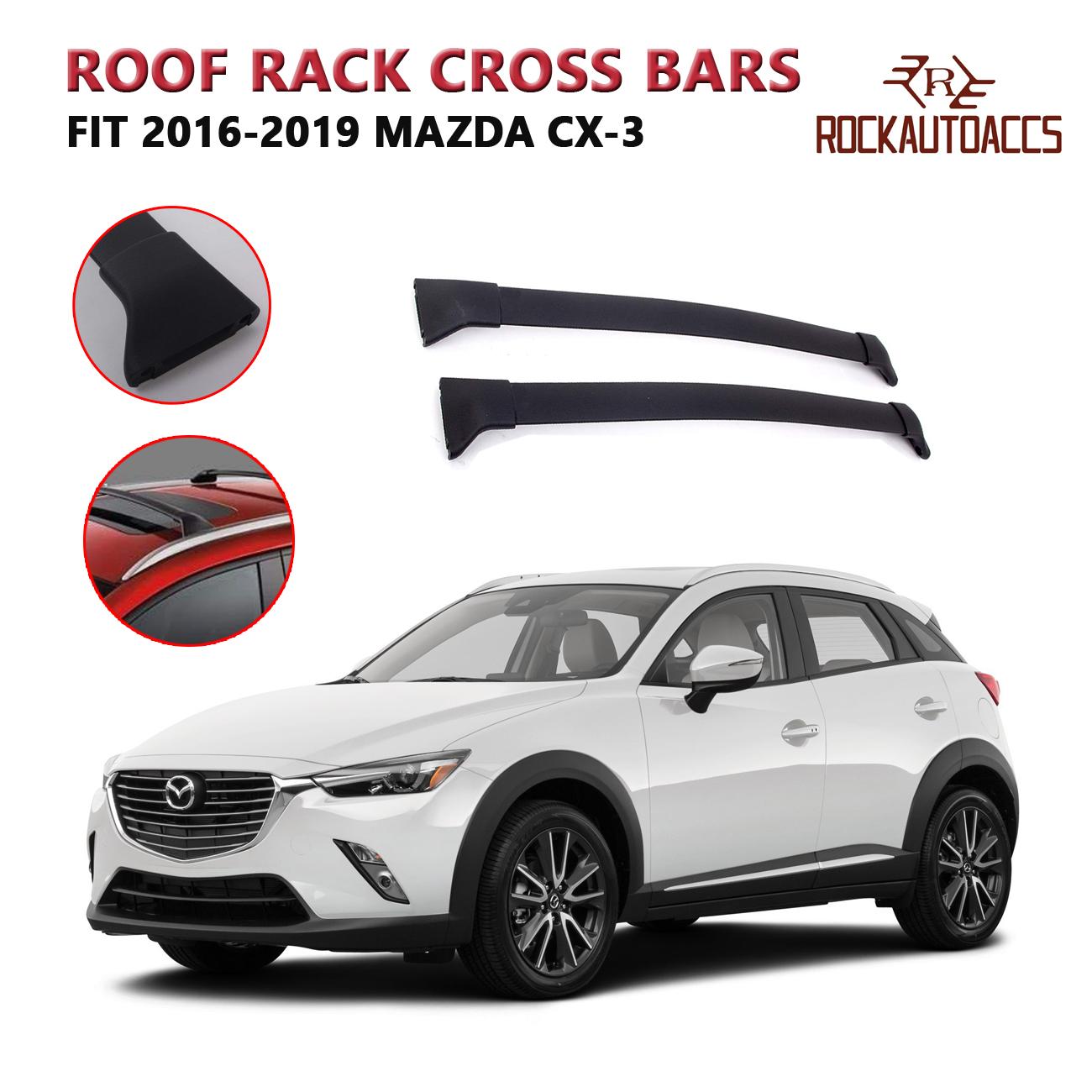 Fits For 2016-2018 Honda Pilot Roof Rack Cross Bars Smooth Crossbar Cargo Bar