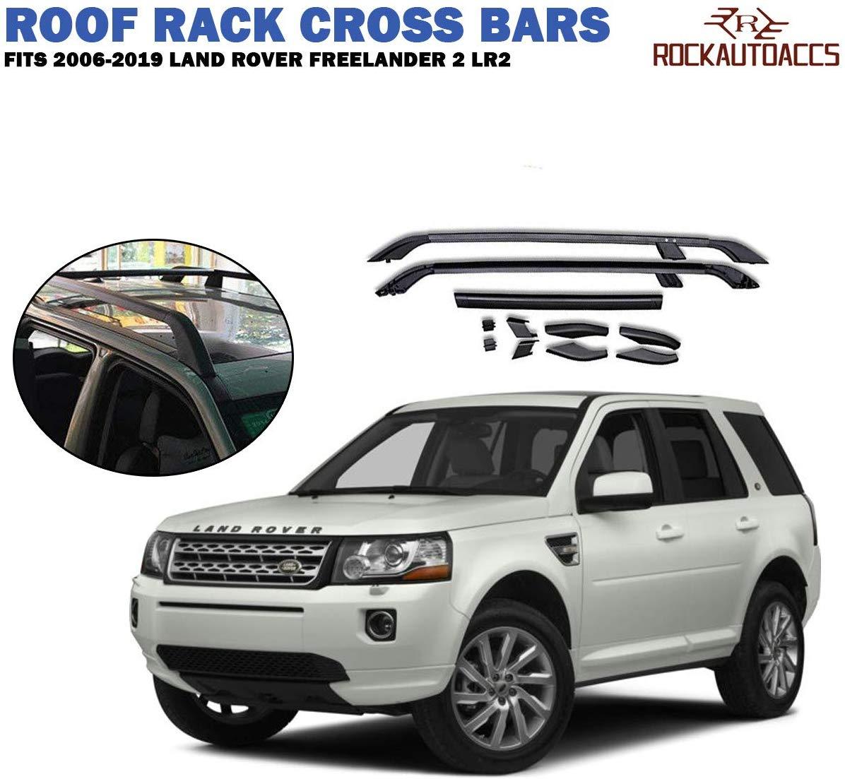 Black fit Land Rover Range Rover 2013 2014 2015 2016 2017 roof rack cross bar