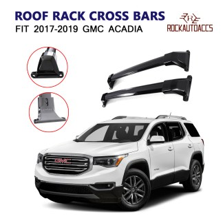 MOSTPLUS Roof Rack Cross Bar Rail Compatible for 2017 2018 2019 2020 Cadillac XT5 Cargo Racks Rooftop Luggage Canoe Kayak Carrier Rack