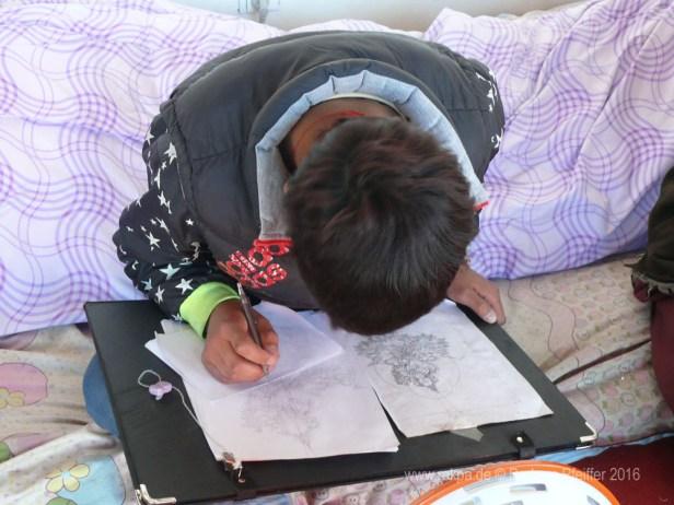 Thangka-Malschule Tibet 1